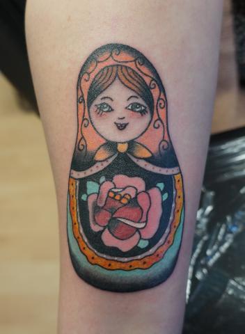 Matrouska tattoo