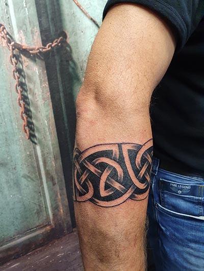 Celtic keltisch band tattoo John Roosendaal